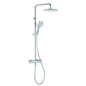 KLUDI FRESHLINE 6709205-00 Thermostat Dual Shower-System chróm